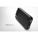 SGP Leather Case Argos Series [Black] for iPhone 4, 4S (SGP06830)
